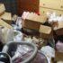 安平町にてゴミ屋敷化した汚部屋の片付け依頼。